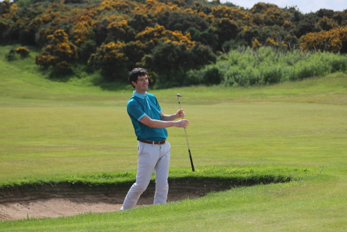Andrew Cooper Golf Bunker Shot