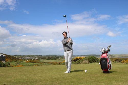 Andrew Cooper Golf driving off
