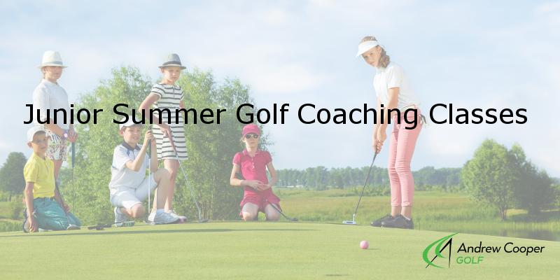 Junior Summer Golf Coaching Classes