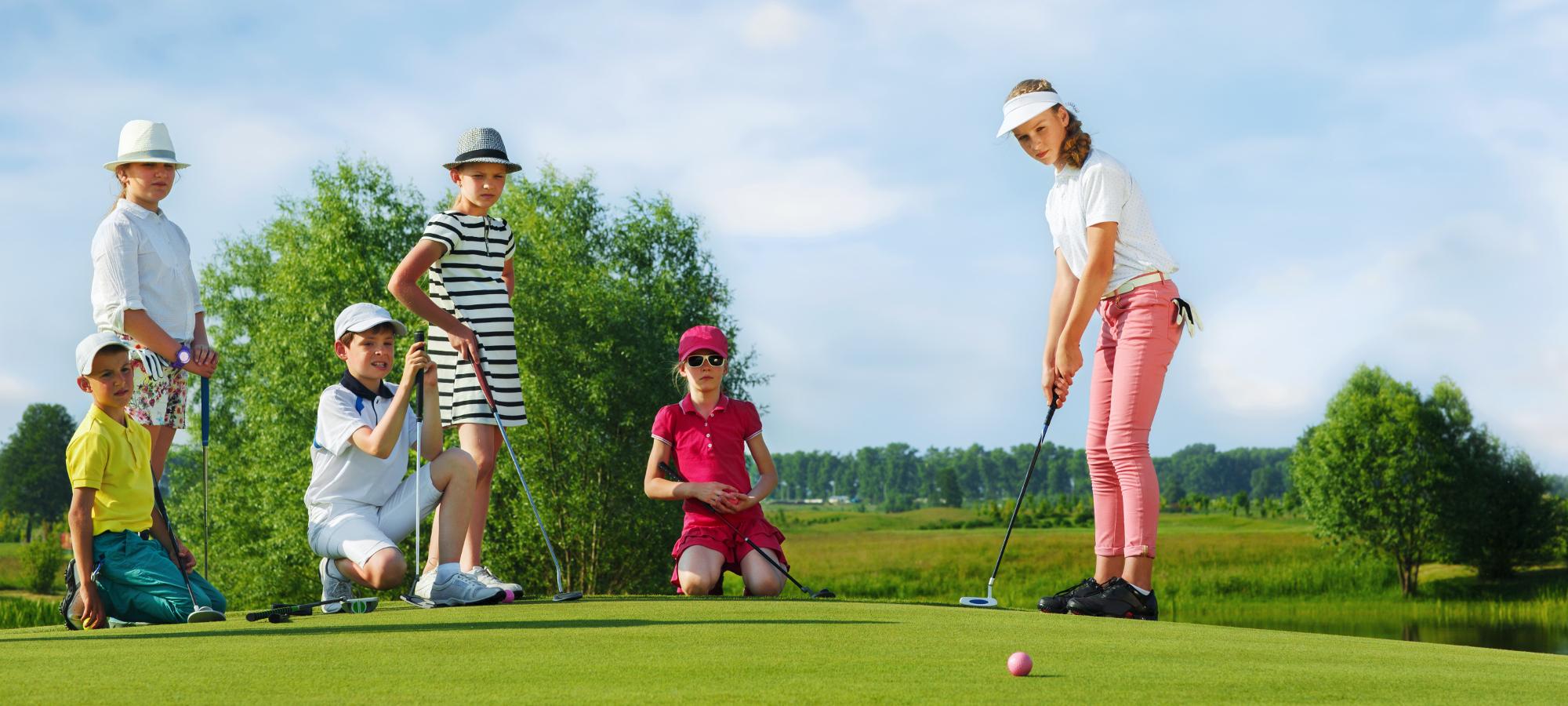 Junior golf classes summer 2018