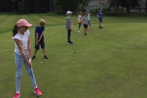 Giving kids a great start to golf